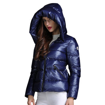 Autumn Winter Women Thickening Down Jacket Parkas 2018 New Hooded Cape style Blue Tightening White Duck Down Jacket Coat lj909