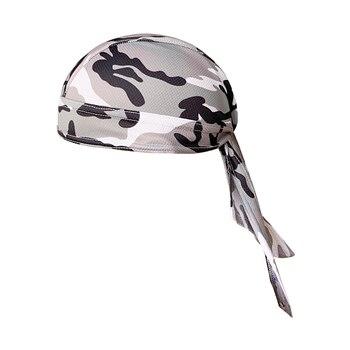 Gorra de ciclismo transpirable de secado rápido sombrero pirata protección de la humedad sombrilla cabeza cubierta pañuelo Bandana de ciclismo