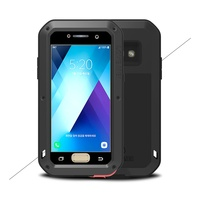 LOVE MEI Powerful Case For Samsung Galaxy A3 A5 2017 Bag Shockproof Dropproof Dustproof Cover For