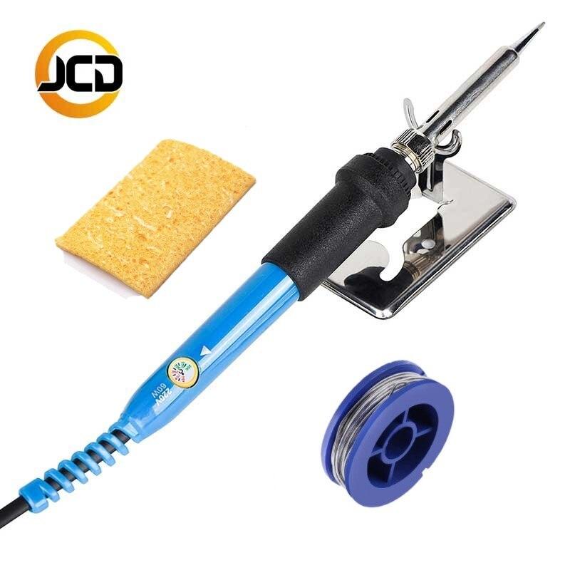 JCsolder 110 V 220 V 60 W Elektrische lötkolben 908 Einstellbare Temperatur lötkolben Mit qualität löten Eisen Tipps und kits