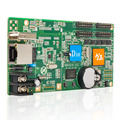 Shenzhen HD-D10 led cartão de controle de módulo 4 * HUB75 interface de dados assíncrono lintel RGB full color display led cartão de controle