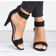 Women Sandals Elegant High Heels Sandals Shoes