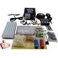 professional complete tattoo kit 2 top tattoo gun cosmetic superior tattoo supply full tattoo machine PTK-914-D4