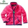 Hoodies meninas Jaqueta Softshell Crianças Polar Criança Meninos Casaco Outwear Primavera Outono Infantil Crianças Designer De Roupas Esportivas