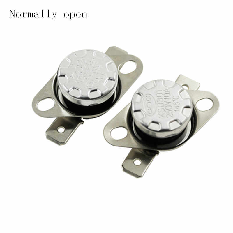 NC NO // Open KSD301-95°C 10A 250V Thermal Control Switch Normally Closed