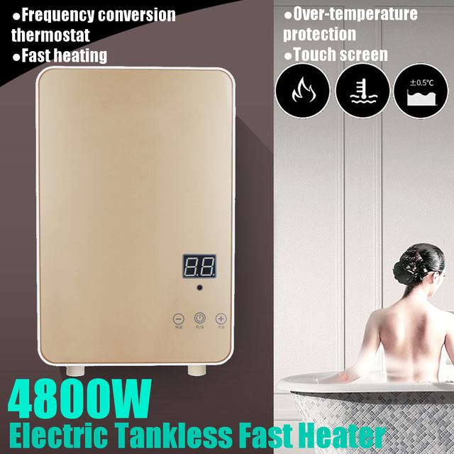 Electric Shower Water Heater Instant Electric Tankless Water Heater