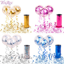 FENGRISE Birthday Party Decorations Kids Baloons Ballons Decoration Confetti Balloon