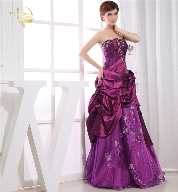 New Floor Length Prom Dresses 2019 New Arrival A Line ...