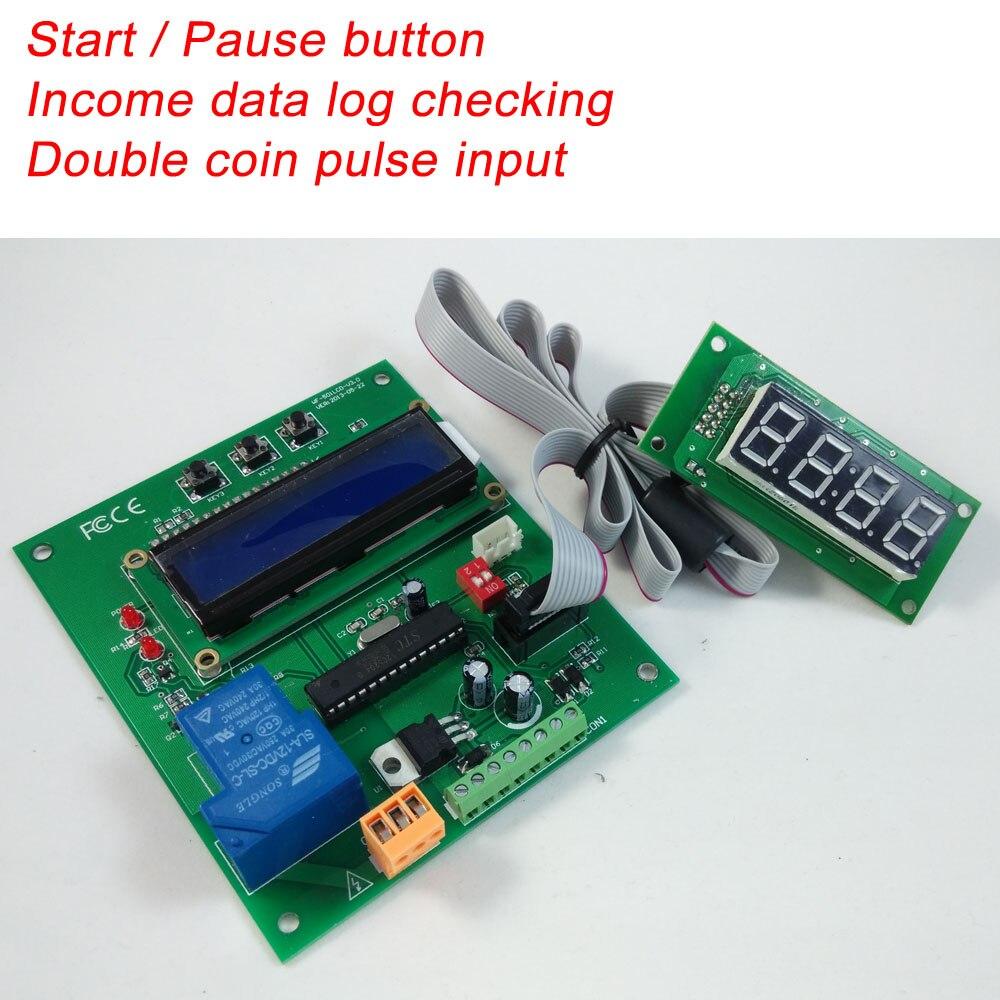 Монетоприемником управляемая плата управления таймером работающая с импульсным выходом устройство для проверки монет и купюроприемник
