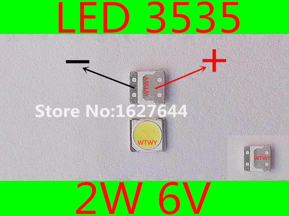 For Repair Sharp Led Lcd Tv Tv Backlight Lights With Light Beads Light-emitting Diode 2828 Accessories 6v New Varieties Are Introduced One After Another Back To Search Resultselectronic Components & Supplies