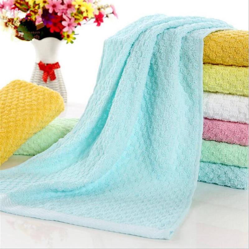 Wholesale 10pcs/lot 35x75cm Solid Towel Pineapple Grain