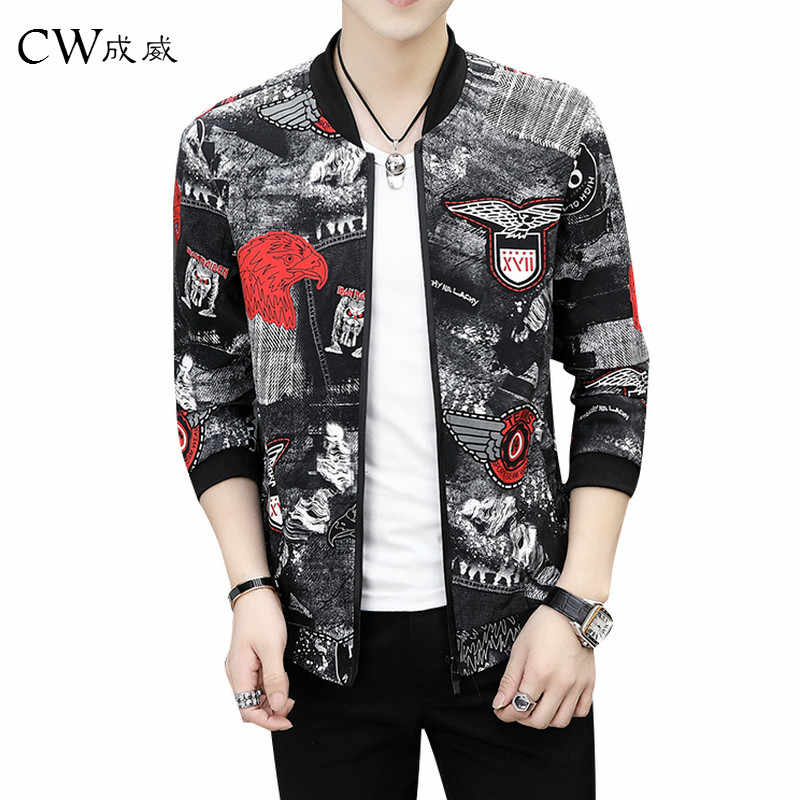 ccbc282ccb2 26 Styles Printing Fashion 2018 Brand Mens Bomber Jacket Thin Men Baseball Jackets  Casual Jacket Coat