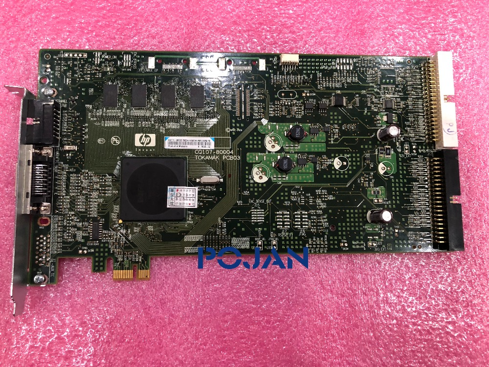 CQ109-67028 PCI CARTE de L'APC 42-60 ''Designjet z6200 z6600 z6800 T7100 PS Peripheral Component Interconnect BORD, POJAN
