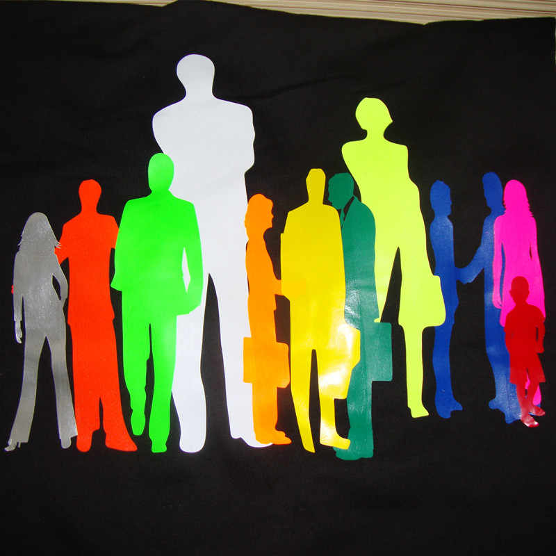 0.5x 1 m/rulo 15 farklı renk PU vinil Film T shirt yüksek kaliteli ısı transferi vinil giyim demir on vinil