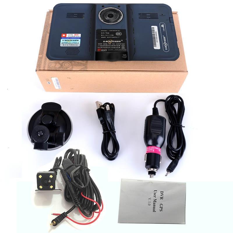 sbhei 7 pulgadas GPS Navegación GPS detector de radar android con - Electrónica del Automóvil - foto 6