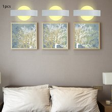 Modern Design Moon Acrylic Wall Light Led Indoor Lamps Sconce Lamp Lights for Bedroom Living Room Stair Drop Ship