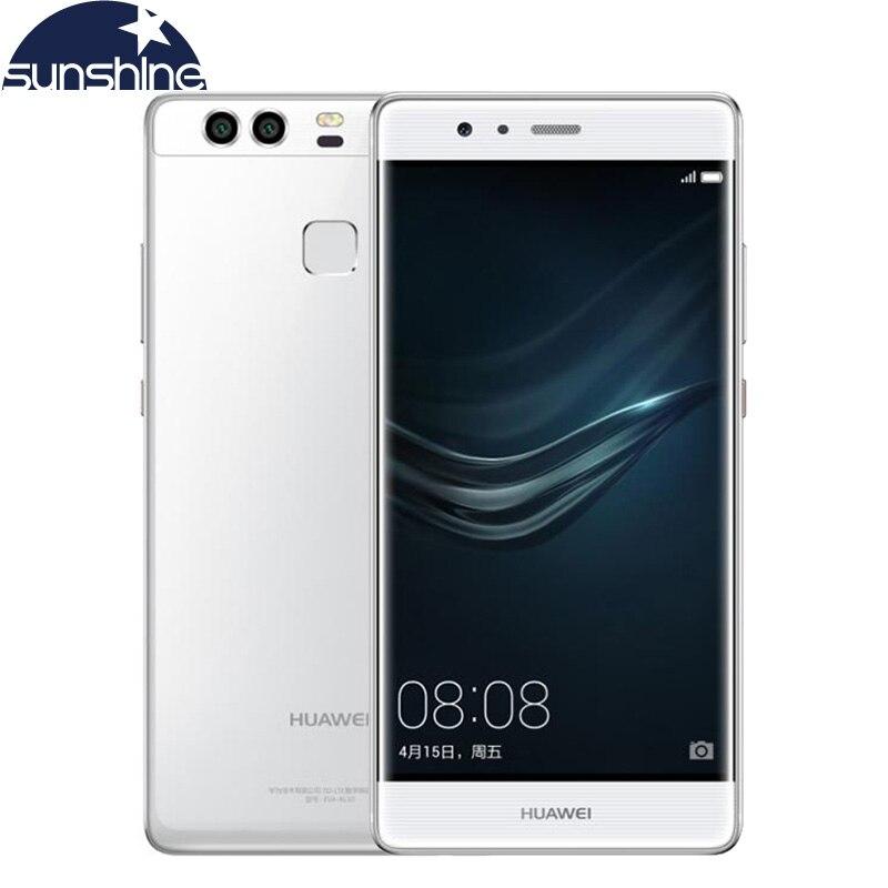 Original Huawei P9 4G LTE New Mobile Phone Huawei Kirin 955 Octa Core EMUI 4.1 Android Phone 5.2