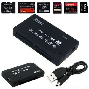 All In One Card Reader USB 2.0