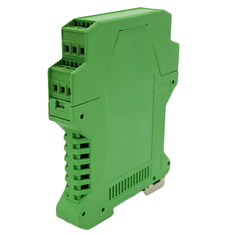 Electrical Distribution Box Din Rail Plastic Enclosure Electronic Green Instruement Enclosure
