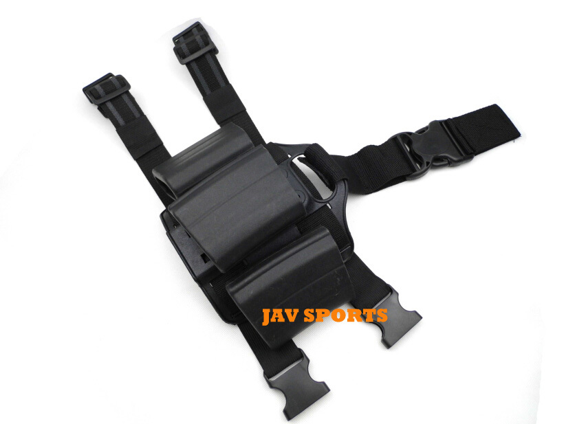 Tactical Holster M4/AUG magazine drop leg holster fast mag pouch+Free shipping(SKU12050030) art holster w15090953672