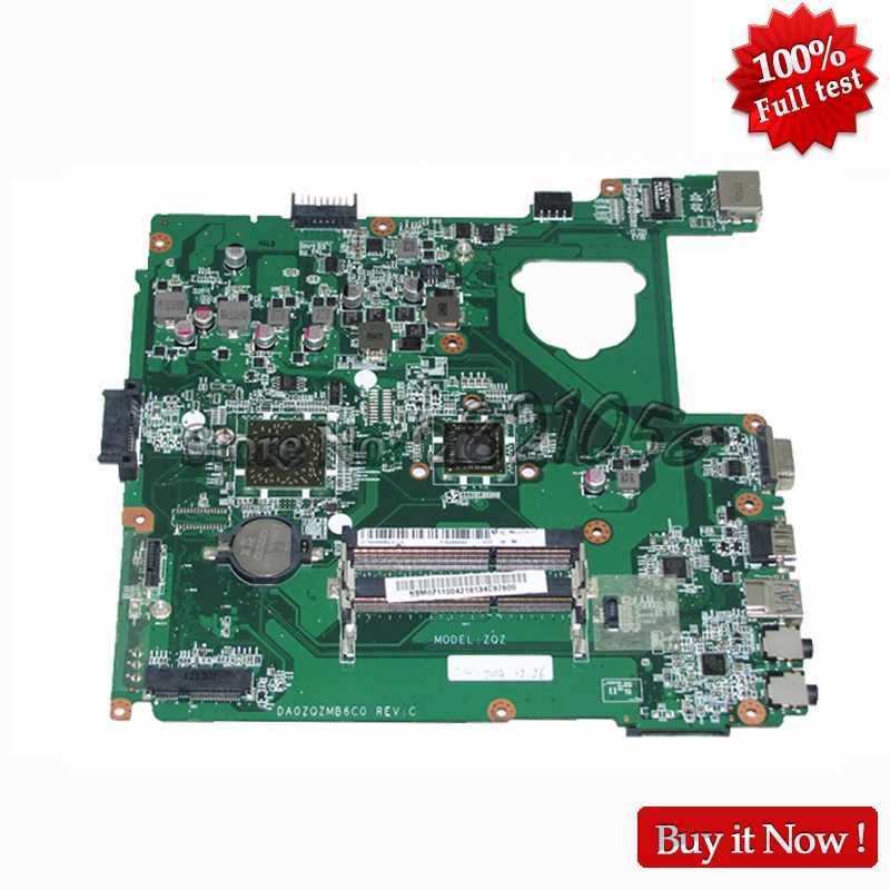 NBM0Z11004 Laptop mothebroard For Acer aspire E1-421 ZQZ Mainboard DA0ZQZMB6C0 DDR3 Onboard CPU laptop motherboard fit for acer aspire 3820 3820t notebook pc mainboard hm55 48 4hl01 031 48 4hl01 03m
