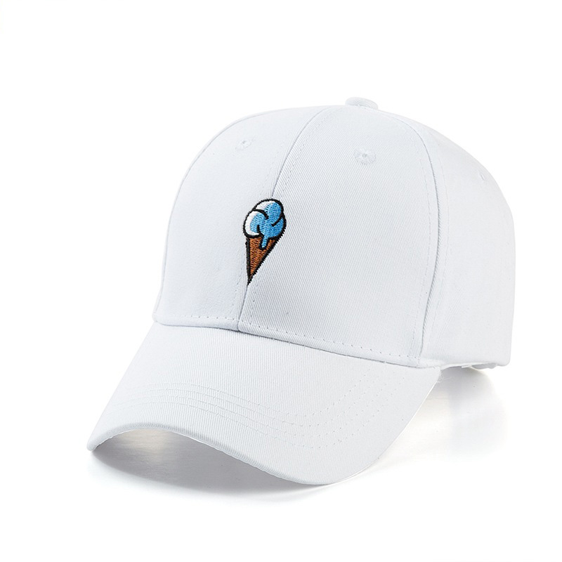 New Arrival Cotton Breathable Embroidered Baseball Caps Trend Couple Long Brim Sunscreen Casual Sun Hat Snapback Hats in Men 39 s Baseball Caps from Apparel Accessories