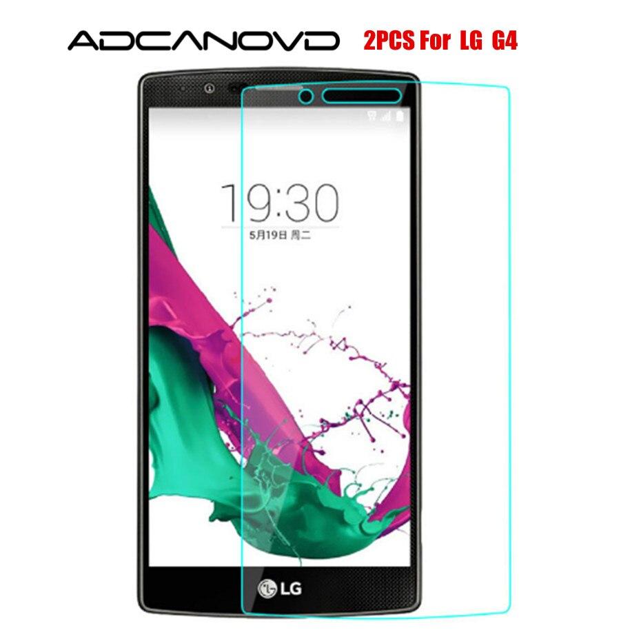 2 pcs protetor de tela sfor lg g4 vidro temperado para lg g4 vidro para lgg4 h810 h815 filme de telefone anti-risco