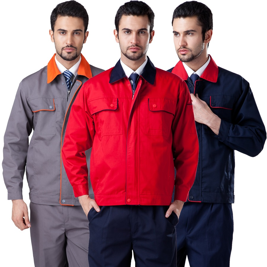 10 Set Long-sleeve Men's Work Wear Set Male Worker Clothes Workwear Mechanic Working Clothes Driver Suit Engineers Work Clothes