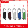 YUFANYF Real Capacity New Hanging Buckle Metal USB Flash Drive 512GB 8GB 32GB 64GB Pen Drive Card Memory Stick Drives Pendrives