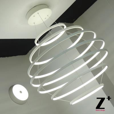 designer modern lighting. led lights designer modern ceiling lamp bedroom living room light ring form creative metal free shipping lighting