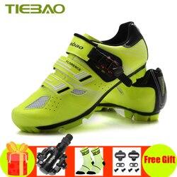 Tiebao obuwie rowerowe sapatilha ciclismo mtb Bike sneakers SPD pedały rowerowe samoblokujące outdoor mountain bike superstar buty