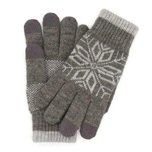 Image 3 - Original Xiaomi männer Wolle Touch Handschuhe Weiblichen Herbst und Winter Warme Handschuhe Touch Screen Telefon Tablet Offizielle Flagship Store