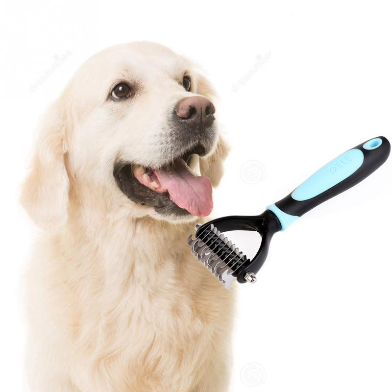 Grooming Rake For Long Haired Dogs
