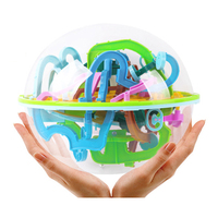 22cm 3D Ball Maze Puzzle Labyrinth Magical Intellect Maze Ball Perplexus Ball Intelligence Educational Toys 299