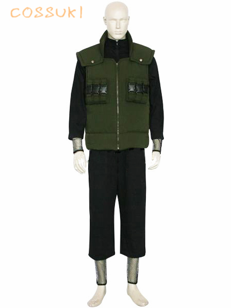 Free Shipping! Naruto Shippuden Nara Shikamaru Uniform Cosplay Costume ,Perfect Custom For You !