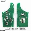 QCONTROL Автомобильная электронная плата дистанционного ключа для HYUNDAI CE0682 OKA-185T автоматический передатчик в сборе 433-EU-TP