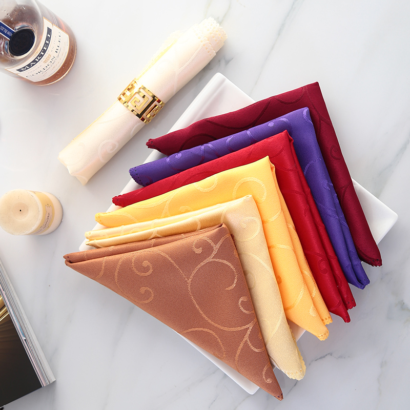 Napkin Cloth Restaurant Hotel Napkin Meal Cloth Folding