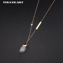 Toucheart вечерние ювелирные изделия имитация золотого цвета
