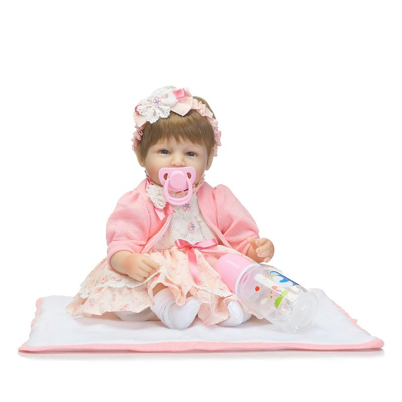 New NPK Doll Reborn Babies Doll 42cm / 17inch Realistic Real Looking Soft Silicone Reborn Baby Dolls