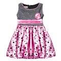 Girls Dresses Children Summer Clothes Beautiful Bowknot Flower Dress Baby Girl Kids Dress
