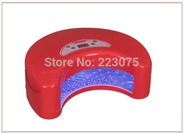 Professionnel Nail Art 12 W lampe à LED Gel sèche ongles + minuterie manucure Machine 5 couleurs être choisi - 2
