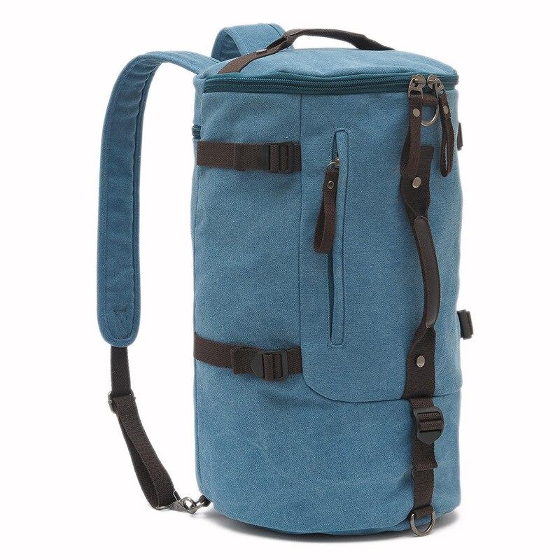 Grande capacité multifonction unisexe sac de voyage alpinisme sac à dos hommes sacs toile seau sac à bandoulière sac de voyage pour hommes - 2