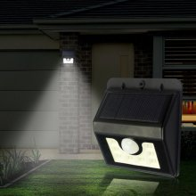8Led Outdoor LED solar Lamp PIR Ultra Bright wall lawn garden Solar Light Outdoor waterproof spotlight Stick Up motion sensor WY