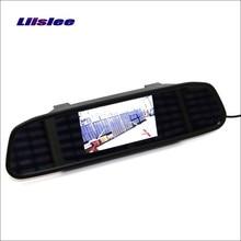 Liislee For Renault Megane 2 II 3 III Rearview Mirror Car Monitor Screen Display HD TFT