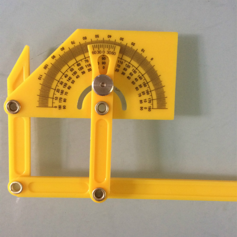 180 Degree Carpentry Precise Angle Ruler Angle Finder Woodworking Measuring Tool Template Tool Set