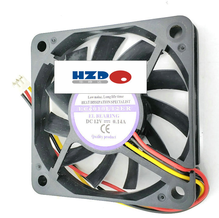 Sunon 12V 1.0W GM1203PFV1-8 3cm 2 line 3010 magnetic suspension cooling fan