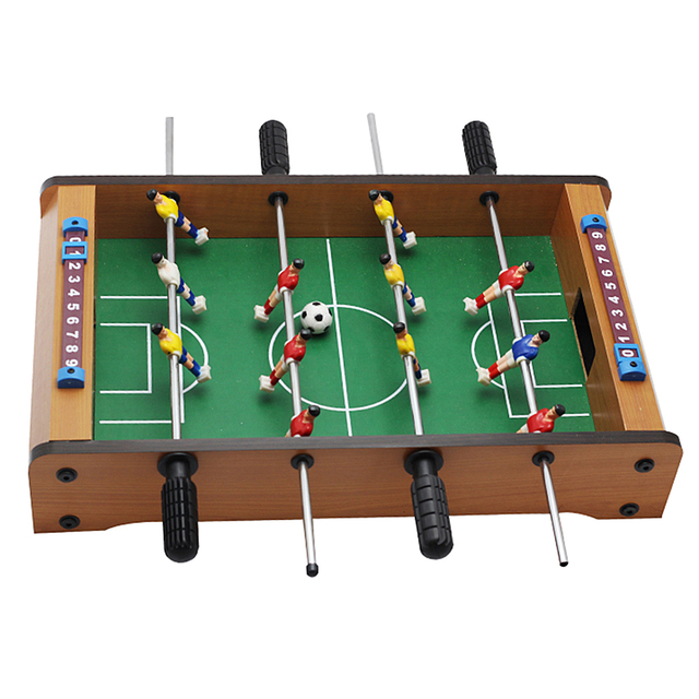 Table Foosball Soccer Games Table Top Sports For Family Kids Toy Leisure  Fun Club Pub Game