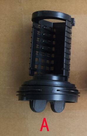 Lavaggio di parti di macchine acque reflue filtro tappo della spinaLavaggio di parti di macchine acque reflue filtro tappo della spina