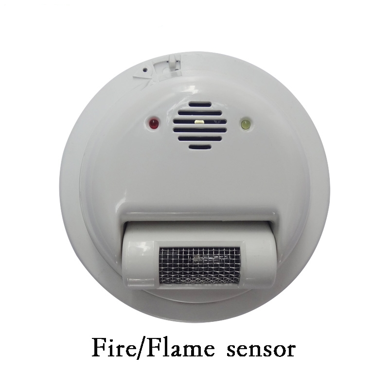 (1 pcs) fio do sensor de Alarme de Incêndio detector de Chamas 2000E raios Ultravioleta Detector Home security protection NC/NO relé de saída do sinal - 3