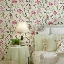 Papel de pared de beibehang para paredes 3 d interior y americano rural pastoral vintage no tejido papel de pared 3d